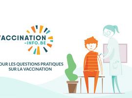 Un site d'information en matière de vaccination entièrement remodelé pour plus de clarté
