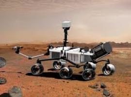Amerikaanse Marsverkenner gelanceerd met huldeplaat hulpverleners corona