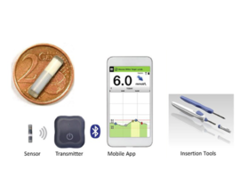 Diabète : l'hôpital Erasme teste un nouveau type de capteur de glucose implanté