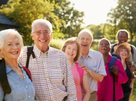 Bevorderen van de immuniteit en de darmtransit van senioren