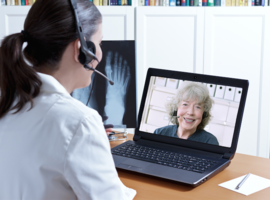 Opvolging ziekteactiviteit van reumatoïde artritis via telegeneeskunde?