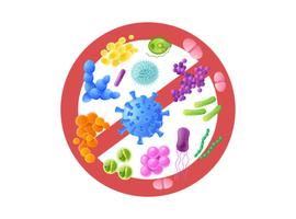 Cholera en covid-19 versus de microbiota
