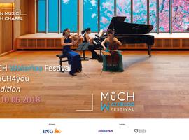 La deuxième édition du MuCH Festival aura lieu du 6 au 10 juin à Waterloo