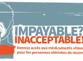 Déjà 25.000 signatures pour le remboursement des médicaments contre la mucoviscidose