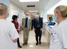 Le Premier ministre De Croo réalise sa première visite de terrain aux cliniques Saint-Luc