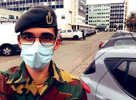 « 102 heures sans sortir de l'hôpital » : le témoignage d'un réserviste étudiant en médecine (R.Florquin)