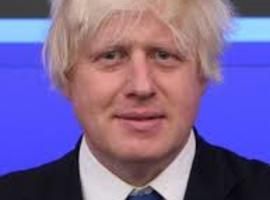 Boris Johnson op intensieve
