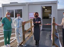 Triage- en testcentrum Panacea klaar voor de winter