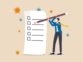 Que faire quand un patient revient à son domicile en post-COVID-19?
