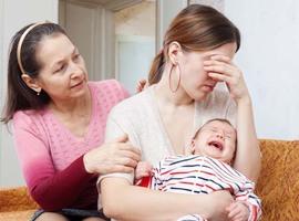 Drie vierde van kersverse mama's heeft last van babyblues