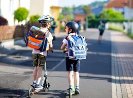 Schoolstraten leiden naar gezondere luchtwegen