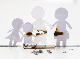 Rookstop: de invloed ervan op kinderen is een goede motivatie