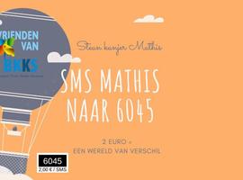 Ook sms-actie voor zieke peuter Mathis