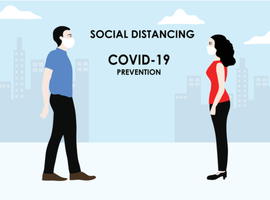 COVID-19: la distanciation sociale, ça marche!