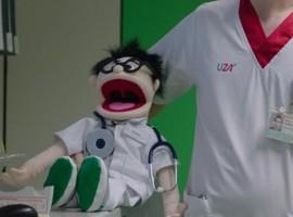 Dokter Karel maakt furore op TV