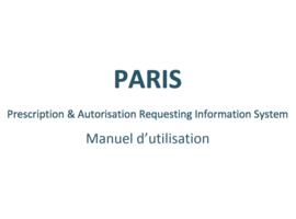 e-prescription : pas de bouchons autour de PARIS
