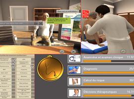 Virtuele realiteit om studenten geneeskunde te evalueren