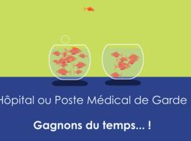 Poste ou urgences? Une vidéo de médecins pour éduquer le patient
