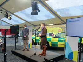 Le chantier des futures urgences du CHR de Namur est lancé