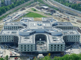 Le nouvel hôpital Delta du Chirec