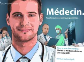 «Médecin. Tous les autres ne sont que spécialistes.»