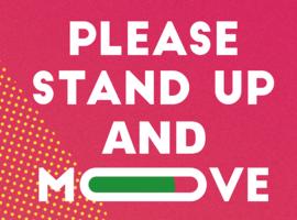 Cardiologische Liga brengt lanceert campagne 'Please Stand up & Move'