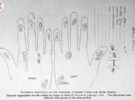 Les empreintes digitales, une trouvaille du XIXe siècle?