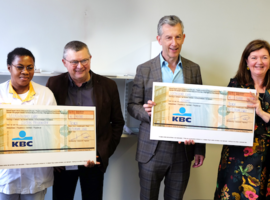RZ Tienen en Alexianen Zorggroep Tienen: 45.000 euro voor goede doelen Congo