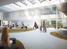 UZ Leuven centraliseert zorg voor pasgeborenen, jongeren en hun moeders in nieuwbouw