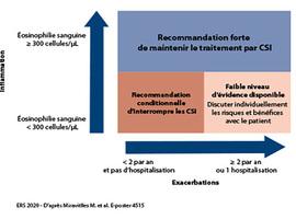 ERRATUM - Recommandations de l'ERS: retrait des CSI dans la BPCO selon l'éosinophilie sanguine