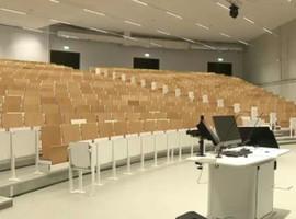 Inauguration d'un nouveau complexe d'auditoires pour le pôle Santé de l'ULB sur le campus Erasme