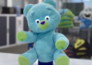 Un ours en peluche robotisé pour le suivi des enfants hospitalisés