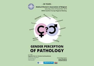 Gender perception of pathology: hoogstaand congres jarige MWAB