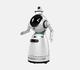 Le Robot Cruzr arrive à l'hôpital d'Anvers pour détecter la température et le port du masque