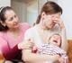 Trois jeunes mamans sur quatre victimes de baby blues (Enquête Mutualité libérale)