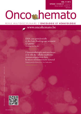OncoHemato Vol.11 N° 5