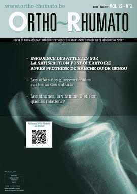 Ortho-Rhumato Vol. 15 N° 2