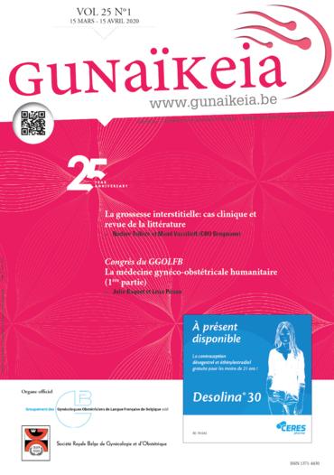 Gunaïkeia Vol. 25 N° 1