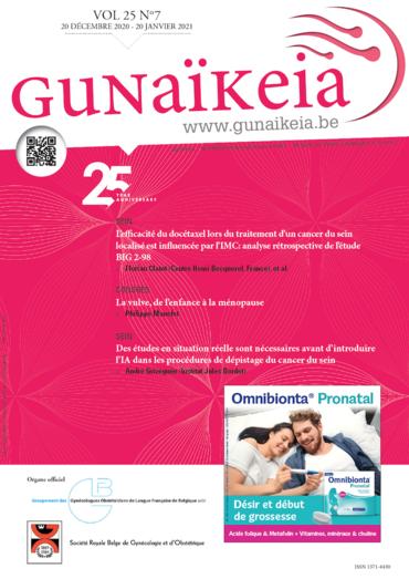 Gunaïkeia Vol. 25 N° 7