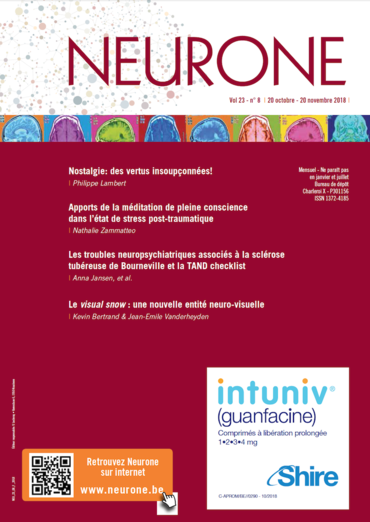 Neurone Vol. 23 N° 8