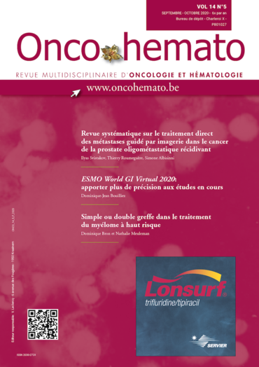 Onco-Hemato Vol. 14 N° 5