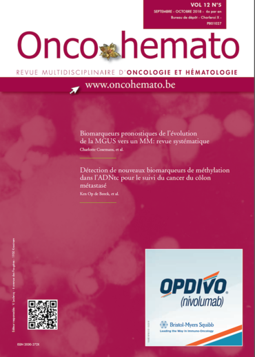 OncoHemato Vol.12 N° 5