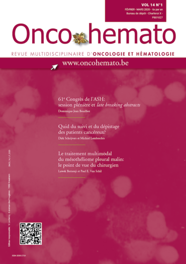 OncoHemato Vol. 14 N° 1