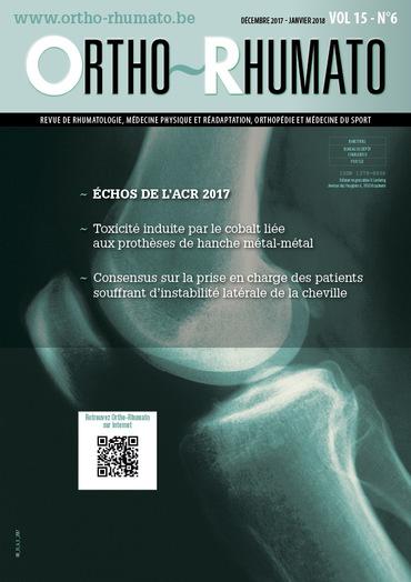 Ortho-Rhumato Vol. 15 N° 6